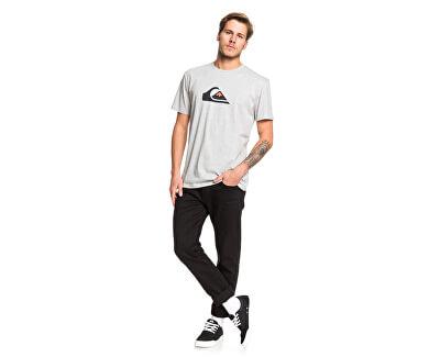 Pánské triko Comp Logo Ss Athletic Heather EQYZT05486-SGRH