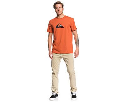 Pánské triko Comp Logo Ss Burnt Brick EQYZT05486-MPM0