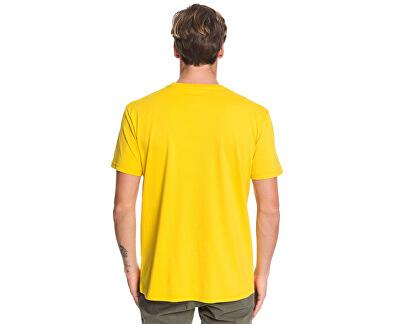 Pánské triko Comp Logo Ss Sulphur EQYZT05486-GJC0