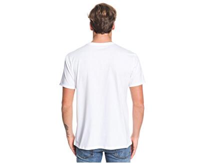 Pánske tričko Island Location Ss White EQYZT05480-WBB0