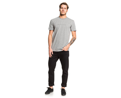 Pánské triko Night Tract Ss Medium Grey Heather EQYZT05454-KPVH