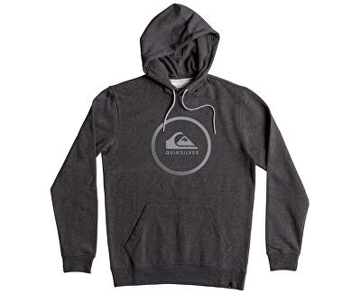 Quiksilver Mikina Big Logo Hood Dark Grey Heather EQYFT03717-KTFH