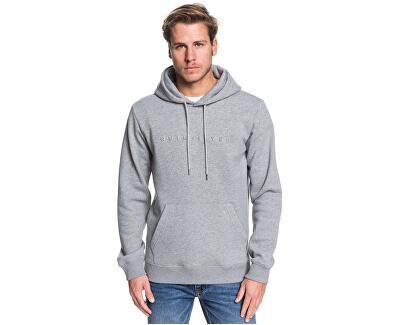 Pánská mikina Emboss Hood Medium Grey Heather EQYFT04024-KPVH