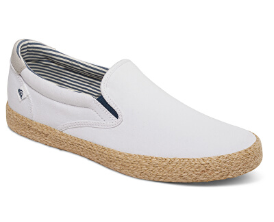 Quiksilver Adidași bărbați Shorebreak Slip-on Esp White/White/Brown AQYS300056-XWWC