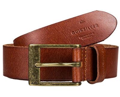 Pánský kožený opasek Slim Premium Leather Belt Chocolate Brown EQYAA03833-CSD0