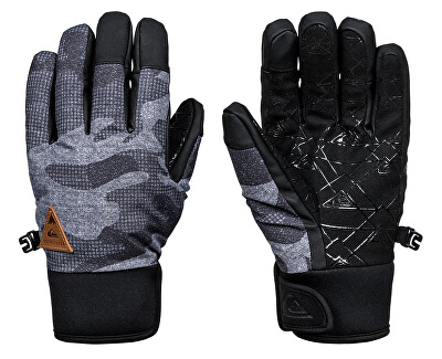 Quiksilver Rukavice Method Glove Black Camokazi EQYHN03082-KVJ9