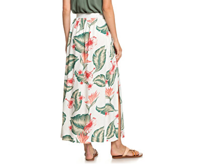 Dámska sukňa From Monroe To Madison Marshmallow Tropical Love ERJWK03057-WBT7