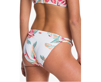 Dámské plavkové kalhotky Lahaina Bay Full Bottom Bright White Tropic Call S ERJX403888-WBB7