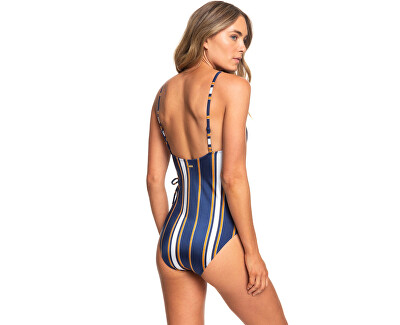 Jednodílné plavky Romantic Senses Red One Piece Medieval Blue Macy Stripe Swim ERJX103172-BTE3