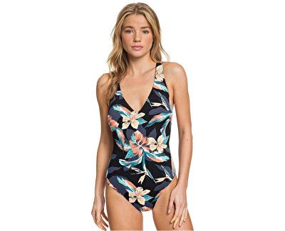 Dámské jednodílné plavky Pt Beach Classics One Piece Anthracite Tropicoco S ERJX103224-KVJ6