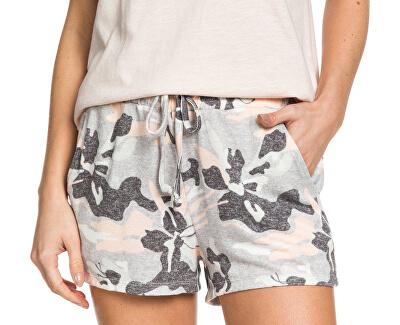 Doamnelor pantaloni scurți de vară Forbidden Print ed Heritage Heather Darwin ERJNS03263-SGR6
