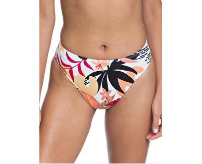 Dámské plavkové kalhotky Pop Surf Hg Lg Md Wst Bright White Nirantara ERJX403911-XWKM