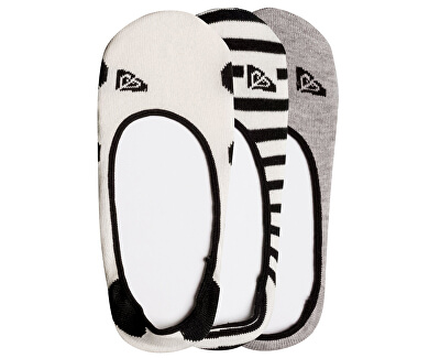 Set ponožiek Liner Socks Anthracite ERJAA03462-KVJ0
