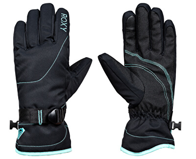 424ba1c308d Roxy Zimní rukavice Rx Jetty Solid Gloves True Black ERJHN03070-KVJ0 ...