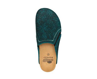 Dámské pantofle Kelsie Bioprint Emerald F272741361