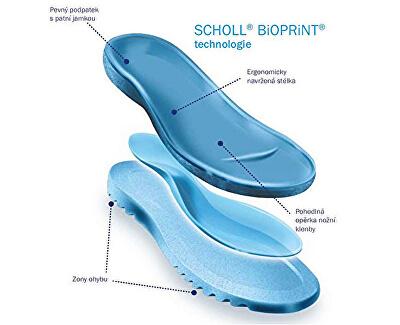 Dámské pantofle Lareth Bioprint Multi F273041039