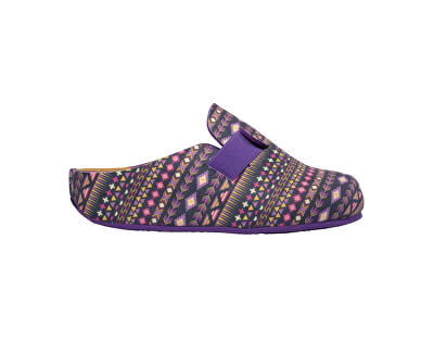 Dámské pantofle Lareth Bioprint Purple/Multi F272821280