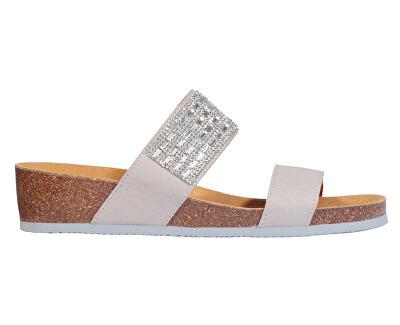 Dámské pantofle Daphne Bioprint Light Grey F274141070