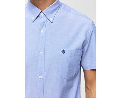 Pánská košile Regcollet Shirt Ss W Noos Light Blue