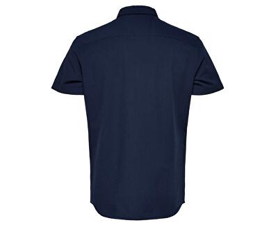Cămașă pentru bărbați Regcollet Shirt Ss W Noos Moonlit Ocean