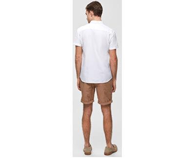 Pánská košile Regcollet Shirt Ss W Noos White