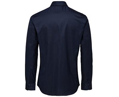 Pánská košile SlimNew-Mark Shirt Ls B Noos Navy Blazer