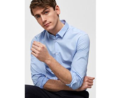 Men´s shirt Slimpreston-Clean Shirt Ls B Noos Light Blue