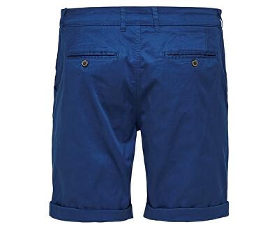 Pánské kraťasy Straight-Paris Shorts W Noos Navy Peony