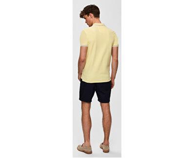 Pánské polo triko Newseason Ss Polo W Noos Mellow Yellow