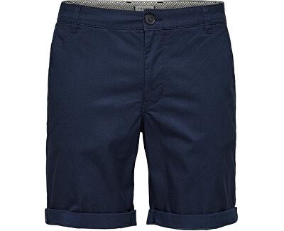 Herren Shorts SLHSTRAIGHT-PARIS 16067683 Mood SKY CAPTAIN
