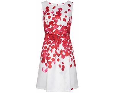 Smashed Lemon Dámske krátke šaty Red 18073/04 - ZĽAVA