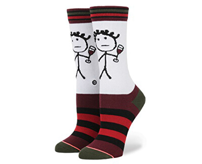 Stance Dámské ponožky Saucy W525D17SAU-WHT