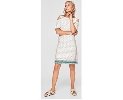 Dámske šaty 14.805.82.8264.02F3 Creme panneau print