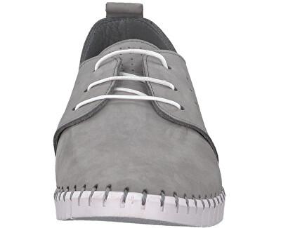 Pantofi eleganți pentru bărbațiLeather LT Grey 5-5-13639-38-210