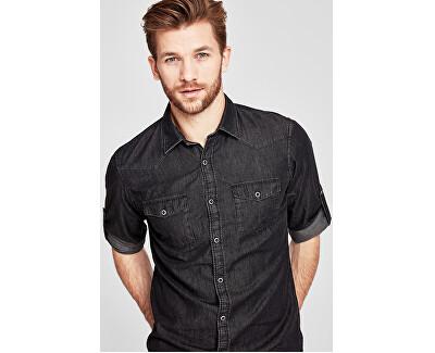 Pánská košile 13.711.21.4029.99Y8 Black
