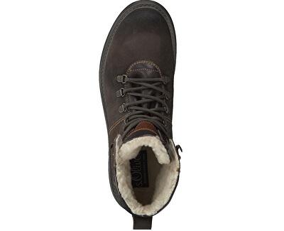 Pánske členkové topánky Dark Brown 5-5-16221-21-302