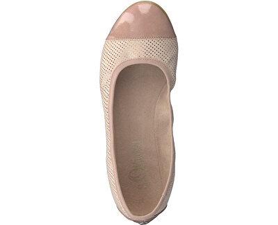 Dámske baleríny Rose Dots 5-5-22118-22-554