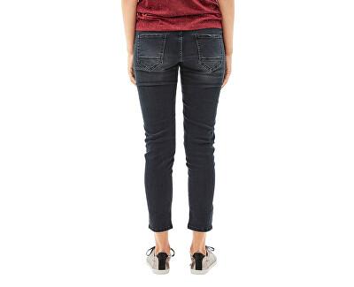 Pantaloni din denim pânăla gleznăpentru femei