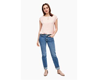 Dámske straight fit džínsy 14.003.71.6069.54Z5 Blue denim stretch