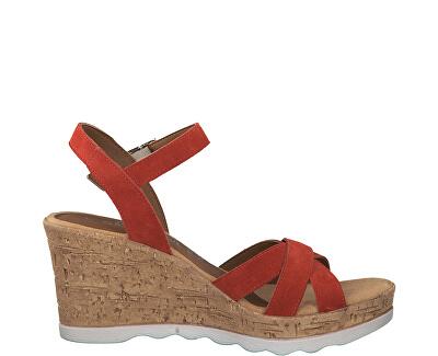 Dámske sandále Lipstick 5-5-28301-22-503