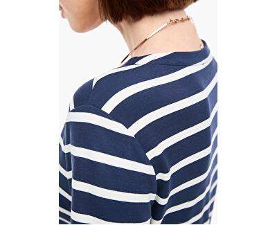 Frauenkleid 14.003.82.2968.58G9 Dark steel blue stripes