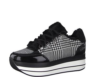 Teniși pentru femei Black Checker 5-5-23603-23-035