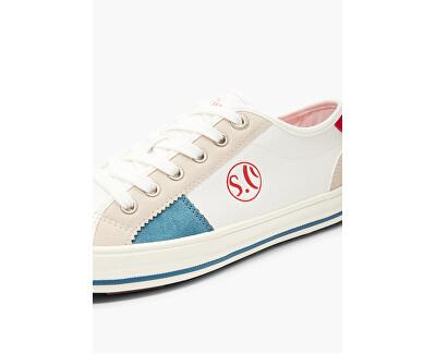 Damen Sneakers Offwhite Comb. 5-5-23665-24-196