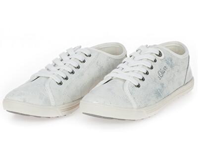 Dámské tenisky White/Silver 5-5-23631-22 193