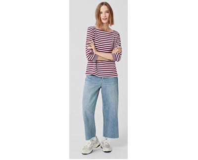 Dámske tričko 04.899.39.5350.49X0 Jewel Red Knit Dessin