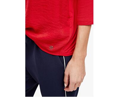 Damen T-Shirt 14.003.39.5901.3123 Leuchtend rot