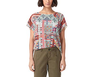 Dámske tričko 14.903.32.4747.02D0 Creme Placed Print