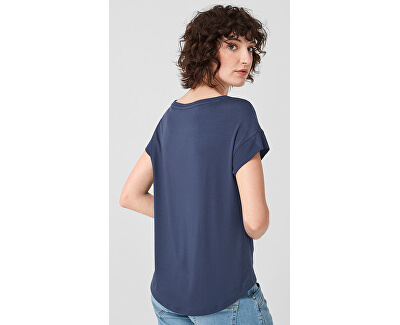 Dámske tričko 14.906.32.5098.5835 Dark Blue