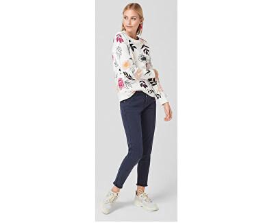 Pulover pentru femei 14.908.41.2802.02C5 Creme Floral Print