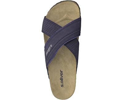Pánské pantofle Navy 5-5-17401-32-805